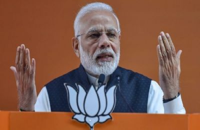 They believe in Satta, Swarth and Shoshan: Modi slams Congress with blog on Lohia