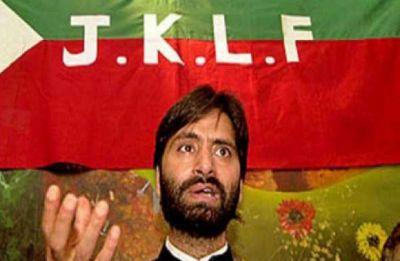 Yasin Malik's banned JKLF was first terror group to raise slogan of 'azadi'