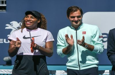 Serena Williams withdraws from Miami Open due to injury, Roger Federer survives a scare