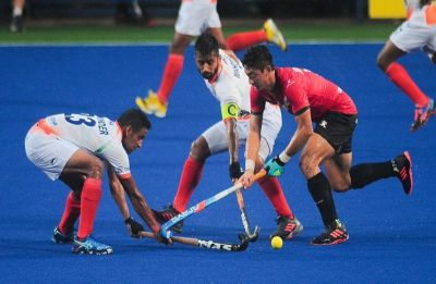 India concede last-minute goal, play out 1-1 draw against Korea