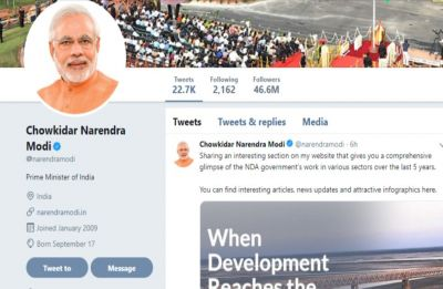 PM Modi engaged celebrities to increase his Twitter visibility: Study
