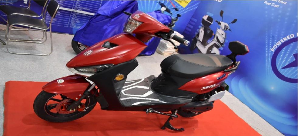 The Trend E has alloy wheels, and disc and drum brakes on the front and rear wheels, respectively. The e-scooter can carry a maximum load of 150 kg.