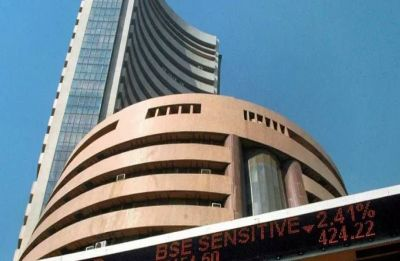 Sensex falls over 325 points on weak global cues