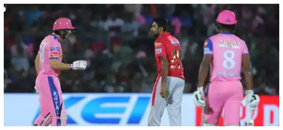 Ravichandran Ashwin's mankading of Jos Buttler has drawn sharp criticisms regarding the spirit of the game. (Image credit: Twitter)