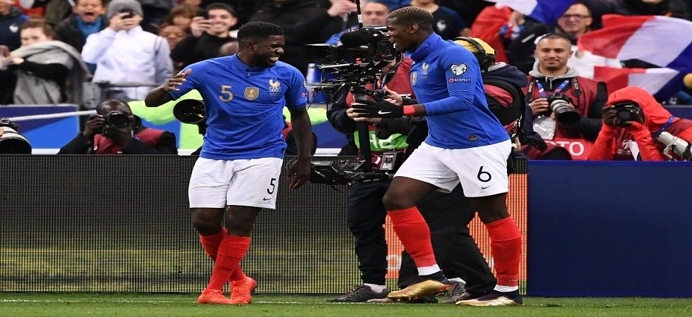 France routed Iceland 4-0 to go on top of Group H as they looked to qualify for the Euro 2020 football tournament. (Image credit: Twitter)
