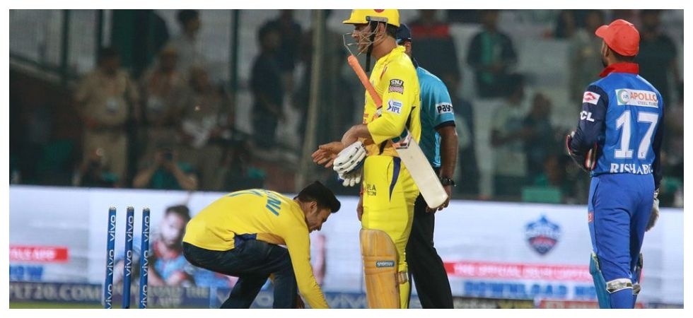 MS Dhoni's adulation reached great heights at the Feroz Shah Kotla following Chennai Super Kings' win over Delhi Capitals. (Image credit: Twitter)