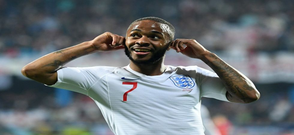 Raheem Sterling has urged UEFA to impose a stadium closure in case of racist chanting. (Image credit: Twitter)