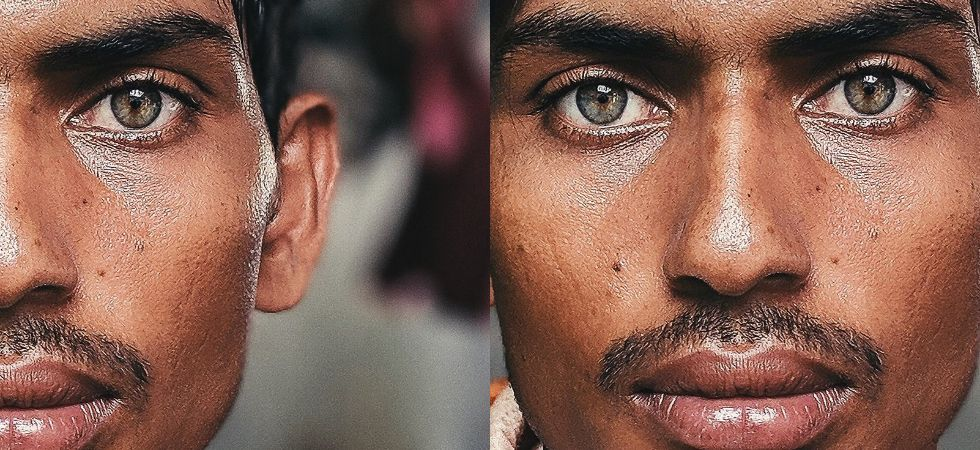 Bangladeshi construction worker's photo is breaking the internet.