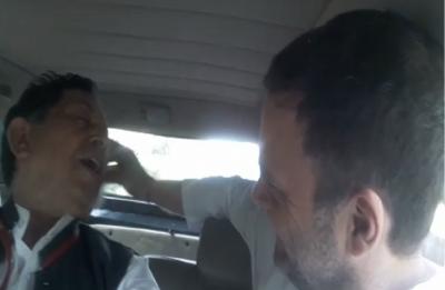 VIDEO: Rahul Gandhi helps injured journalist reach AIIMS