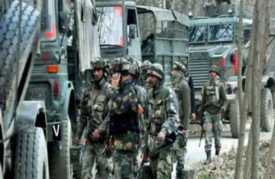 1 terrorist killed by security forces in Handwara, one AK-47 weapon recovered, search op on