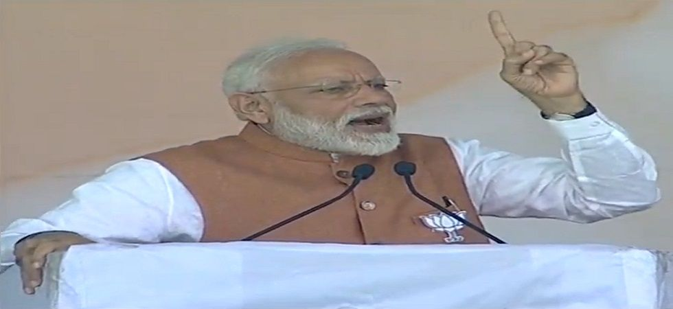 Here are the five topics, Prime Minister Narendra Modi touched upon at the mega rally in the politically sensitive Uttar Pradesh town. (Photo: ANI)