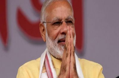 PM Modi says his govt has shown courage for surgical strike in all spheres -- land, sky and space