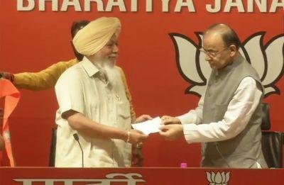 Suspended AAP MP Harinder Singh Khalsa joins BJP in presence of Arun Jaitley