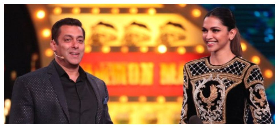 Salman Khan answers why he has never worked with Deepika Padukone (Photo: Twitter)
