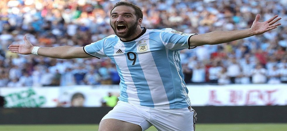 95c7253cf03 Gonzalo Higuain was part of the Argentina team that lost the 2014 World Cup  final as