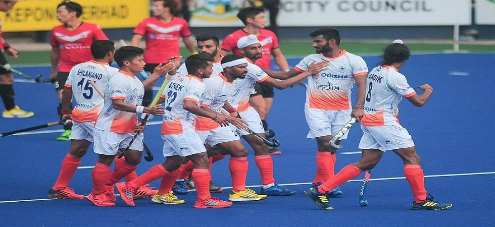 Mandeep scored two goals yet again as India mauled Poland to stay unbeaten in the Sultan Azlan Shah Hockey tournament. (Image credit: Twitter)