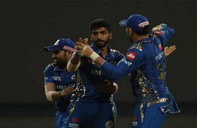 Mumbai Indians register first victory of season in most dramatic way