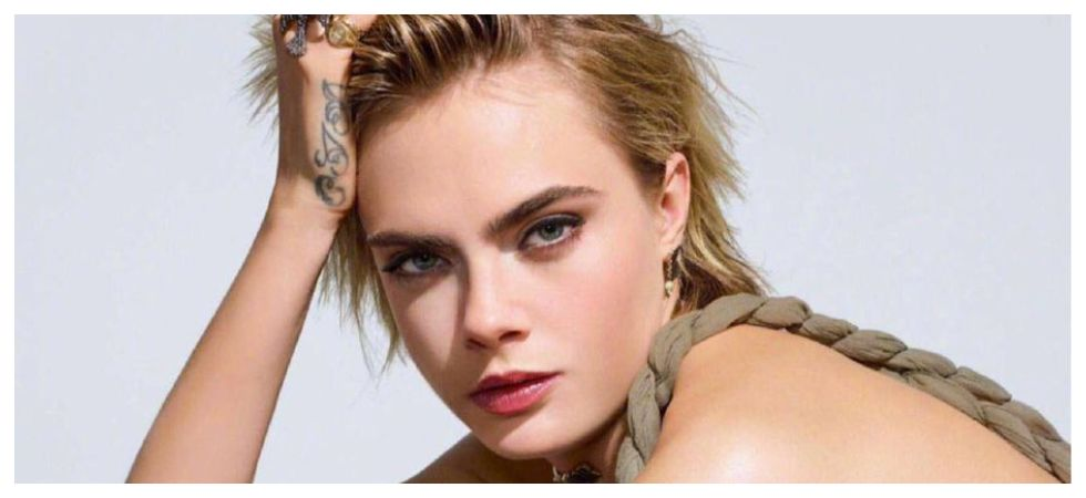 Cara Delevingne opens up about her 'fluid sexuality' (Photo: Twitter)