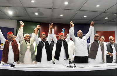 Nishad Party breaks alliance with SP-BSP-RLD 'mahagathbandhan', likely to join hands with BJP