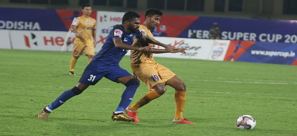 Chennaiyin FC entered the quarterfinal of the Hero Super Cup football tournament with a 2-0 win over Mumbai City FC. (Image credit: Twitter)