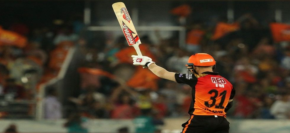 David Warner slammed 69 as Sanju Samson's hundred went in vain with Sunrisers Hyderabad winning against Rajasthan Royals. (Image credit: Sunrisers Hyderabad Twitter)