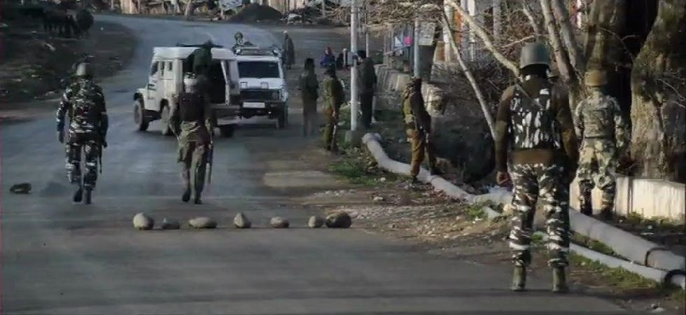 A joint search operation by the Jammu and Kashmir Police, CRPF and the Army is underway. (Photo: ANI)