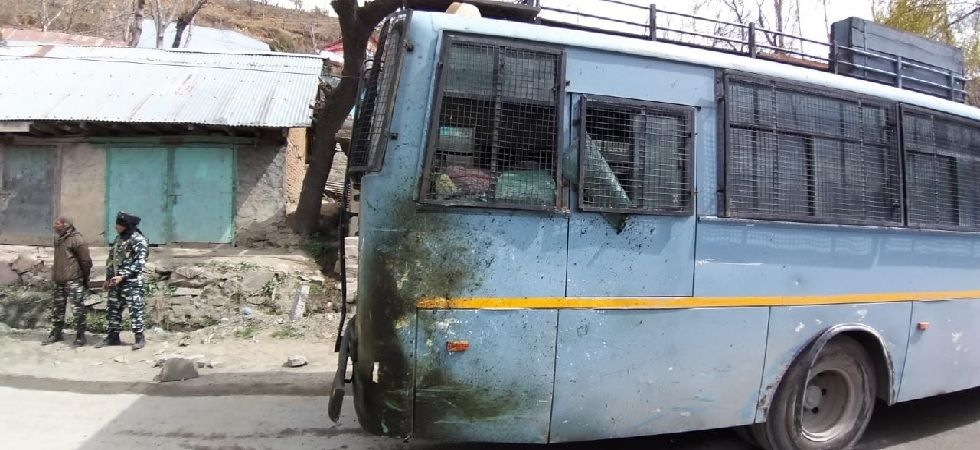 There were more than 40 CRPF personnel travelling in the bus
