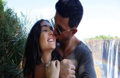 Amy Jackson announces her pregnancy with an aww-dorable post, flaunts her baby bump