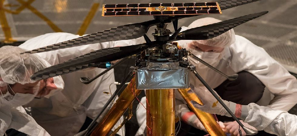 NASA's Mars Helicopter, designed to fly in thin atmosphere and low gravity, has successfully completed flight tests (Photo: NASA/JPL-Caltech)