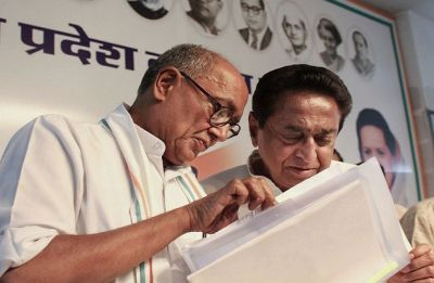 Congress vs Congress in Bhopal? Reinstate security cover of RSS' Bhopal office, Digvijaya Singh urges Kamal Nath