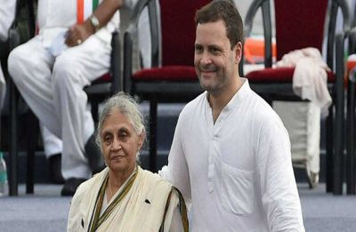 Amid speculation of AAP alliance, Delhi Congress chief Sheila Dikshit meets Rahul Gandhi