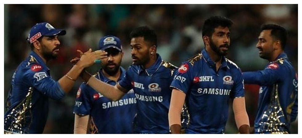 Suryakumar Yadav's fifty and a fine all-round show by Hardik Pandya helped Mumbai Indians beat Chennai Super Kings at the Wankhede. Get highlights of the match here. (Image credit: Twitter)