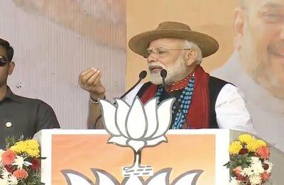In Arunachal rally, PM Modi dubs Congress manifesto as hypocrisy document