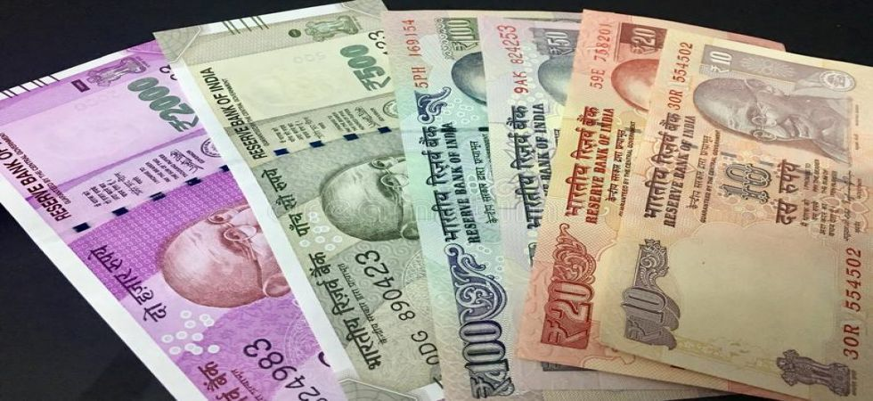 The rupee appreciated by 9 paise to 68.65 against the US dollar in opening trade on Wednesday