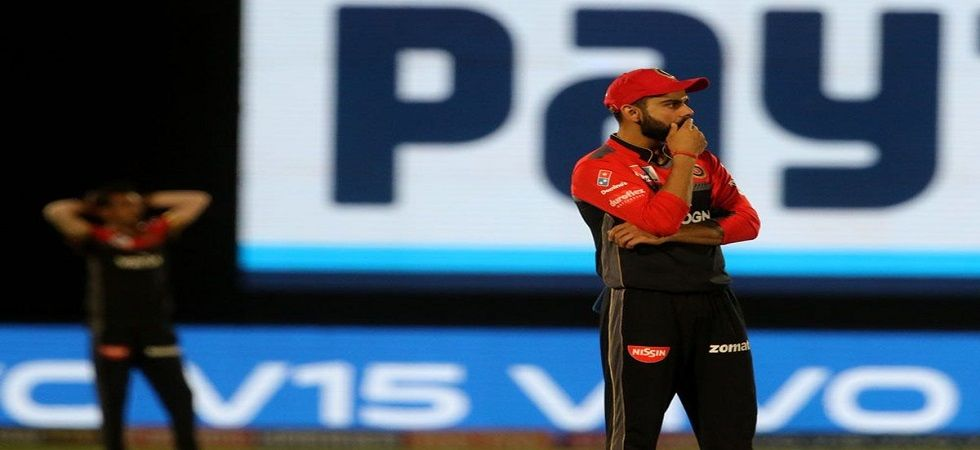 Virat Kohli has said dropped catches will not result in the side winning as Royal Challengers Bangalore slumped to their fourth straight loss. (Image credit: Twitter)