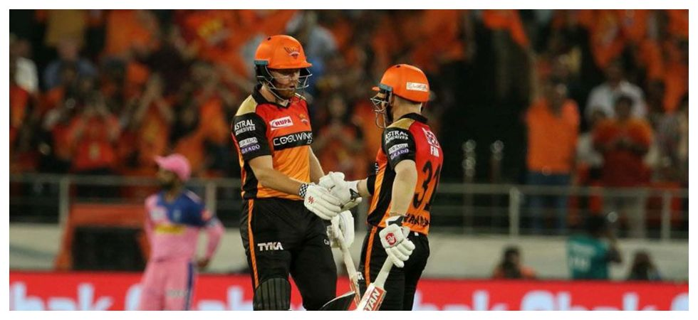 David Warner and Jonny Bairstow have boosted Sunrisers Hyderabad at the top in IPL 2019. (Image credit: Twitter)