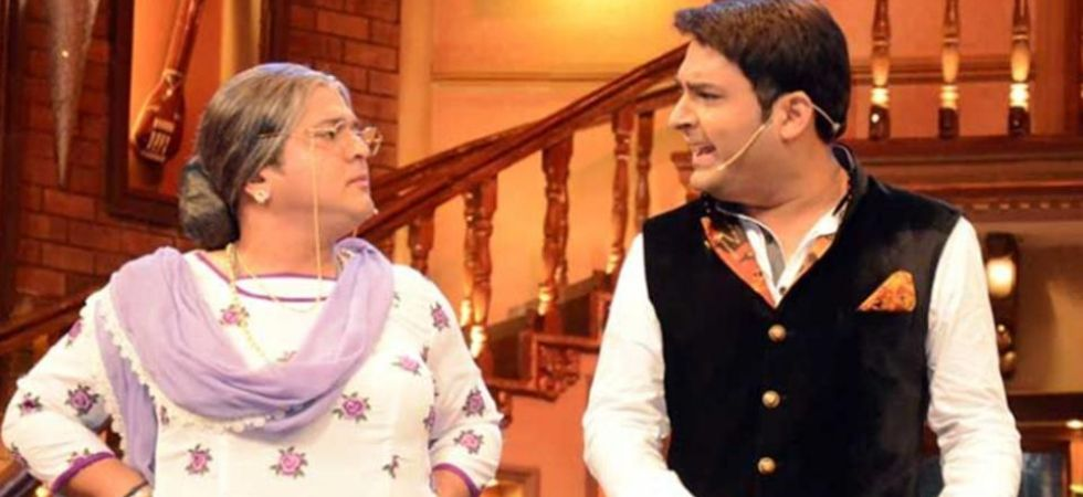 Kapil Sharma with Ali Asgar. (File Photo)