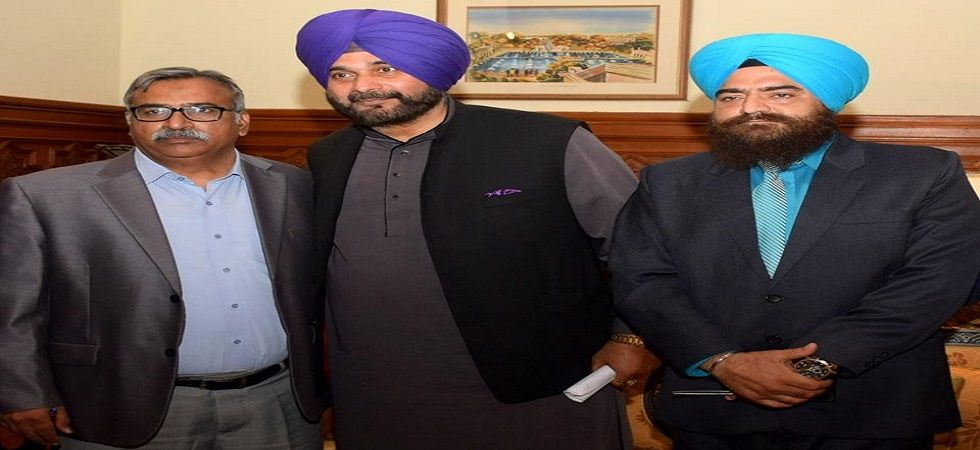 On March 7, Sidhu was not included in the list of speakers at Congress president Rahul Gandhi's Moga rally. (File photo)