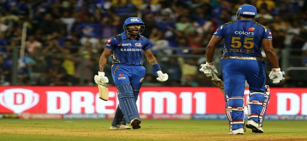 Hardik Pandya was awarded as the man=of-the-match against CSK (Image Credit: Twitter)