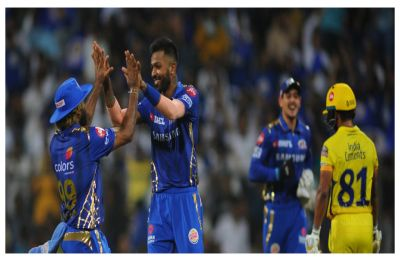Hardik Pandya all-round blitz gives Mumbai Indians special win over Chennai Super Kings