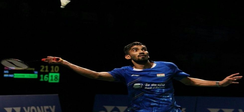 Kidambi Srikanth now trails 1-6 in head-to-head encounters against Chen Long in the Malaysia Open Badminton tournament. (Image credit: Twitter)