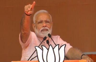 PM Modi in Amroha: 'Bua and Babua' governments released terror accused, were kind to them