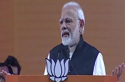 Do you want to embolden 'tukde-tukde gang', PM Modi on Congress promise to remove sedition law