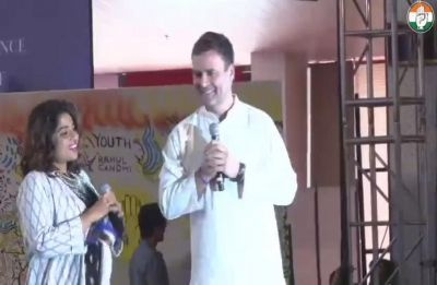 Rahul Gandhi talks about Priyanka, shares childhood memories with students in Pune