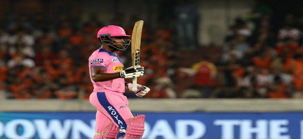 Sanju Samson scored second ton in his IPL career (Image Credit: Twitter)