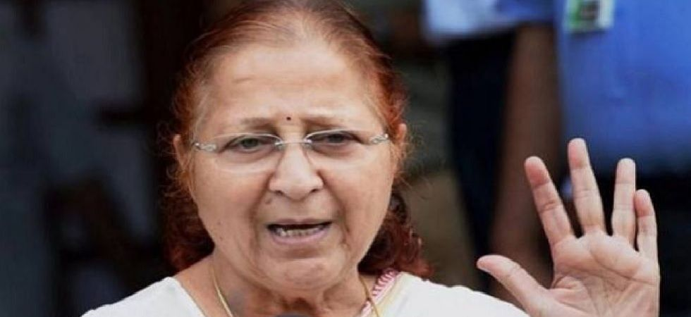 Lok Sabha Speaker and eight-time MP from Indore, Sumitra Mahajan (File Photo)