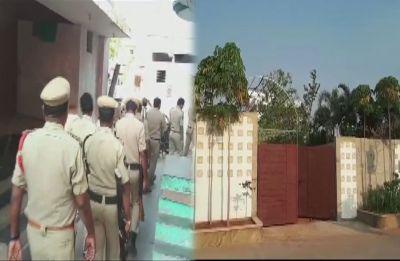 Andhra Pradesh Police raids Telugu Desam Party lawmaker CM Ramesh's residence