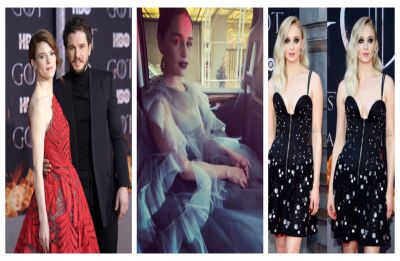 Game of Thrones 8 Premiere: Kit Harrington, Rose Leslie, Emily Clarke give fashion police a run for the money