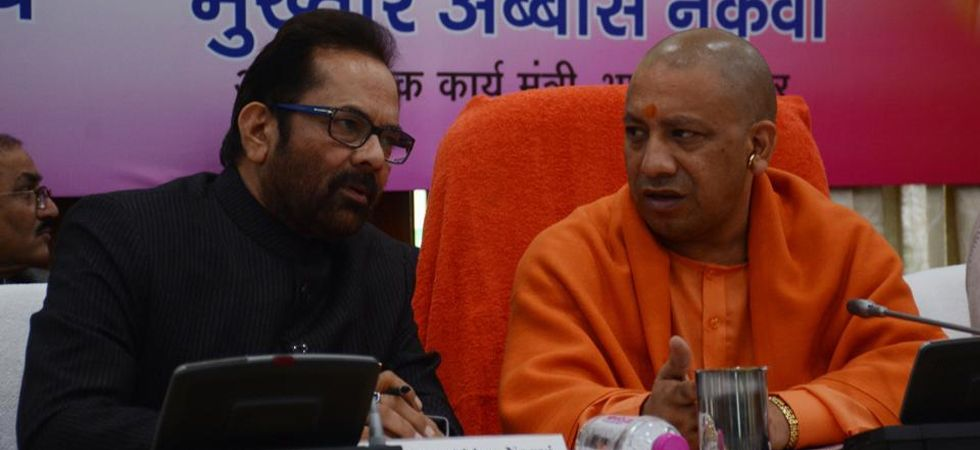 Yogi Adityanath and Mukhtar Abbas Naqvi (File Photo)