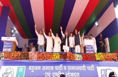 SP-BSP-RLD alliance will win provided BJP doesn't tamper with EVM, says Mayawati in Deoband